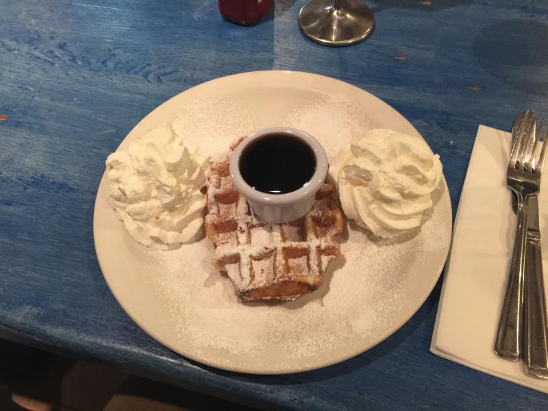 Mmmm, waffles!